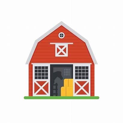 Barn Horse Vector Stable Barns Stables Clip
