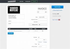 free invoice generator invoice design inspiration With html invoice generator