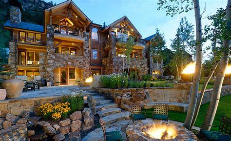 million mountaintop mansion  aspen  homes