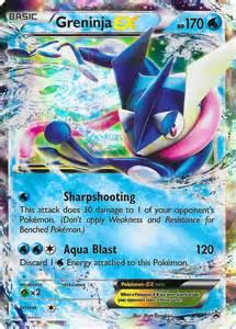 Greninja Pokemon Card Ex