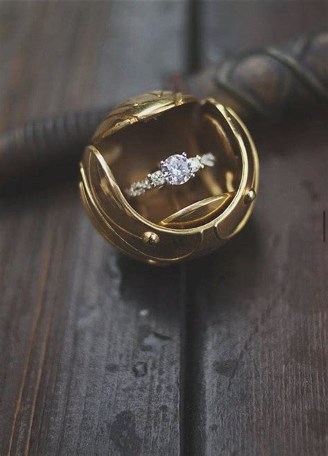 golden snitch ring box for kens harry potter harry potter wedding harry potter jewelry