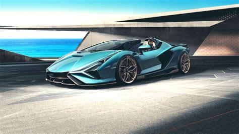 Lamborghini Sián Roadster 4K Wallpaper, Supercars, 2020 ...