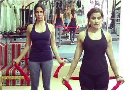 katrina kaifs trainer tells    toned arms