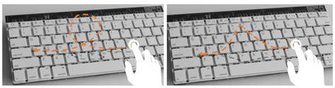 type hover swipe microsoft s prototype gesture keyboard slashgear