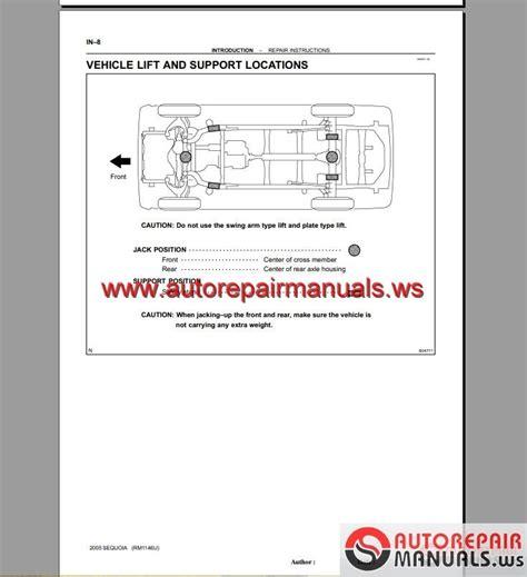 auto repair manual online 2006 toyota sequoia free book repair manuals toyota sequoia 2001 2006 repair manuals auto repair manual forum heavy equipment forums