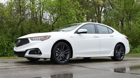 2018 acura tlx a spec sh awd v6 performance review youtube