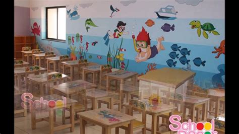 theme based kinder garden class room youtube