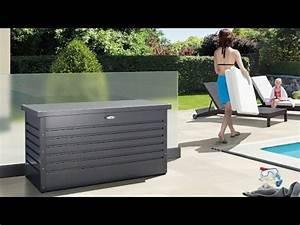 Biohort Freizeitbox 180 : biohort garten aufbewahrungsbox freizeitbox 180 wei 0 79 x 1 81 x 0 71 m stahlblech 7437 ~ Watch28wear.com Haus und Dekorationen