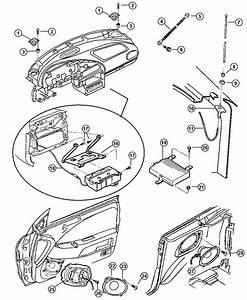 1999 Chrysler Sebring Amplifier  Radio  Audio System