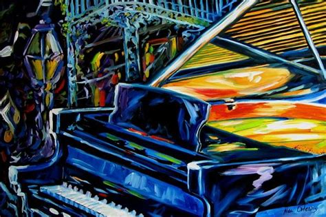 jazz piano new orleans from exhibit entries by artist marcia baldwin