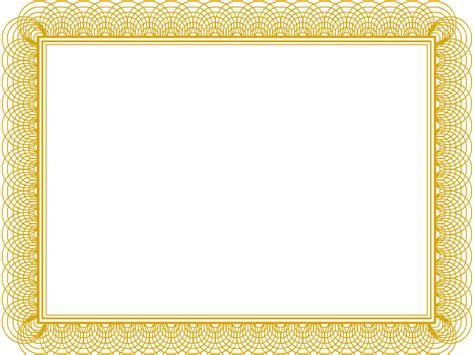 blank certificate borders templates  radio
