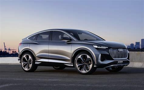 Audi Q4 Sportback e-tron concept previews crossover EV for ...