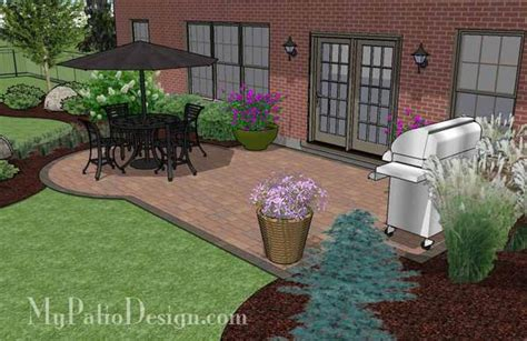 small paver patio small paver patio design patio layout and material list