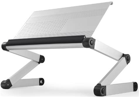workez executive ergonomic laptop stand monitor riser