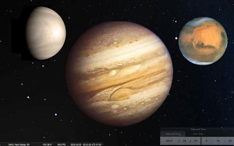 Dazzling Conjunction Of Jupiter