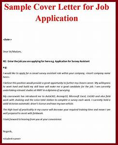 Job application cover letter format http wwwjobresume for Example of a covering letter for a job application