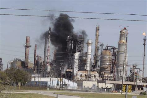 pasadena texas oil refinery blast    injured