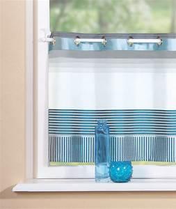 ösen Gardinen Grau : scheibengardine inbetween halbtransparent stoff mit sen blau grau olymp a ~ Frokenaadalensverden.com Haus und Dekorationen