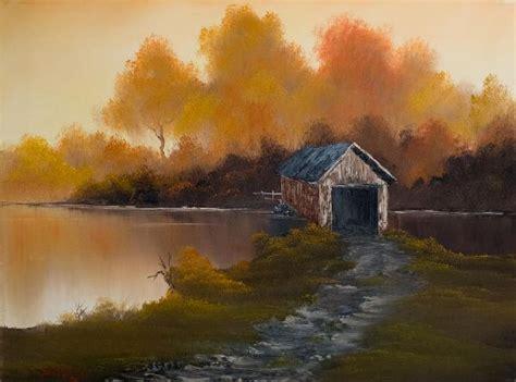 Bob Ross Bridge To Autumn Oil Paintings & Bob Ross Bridge