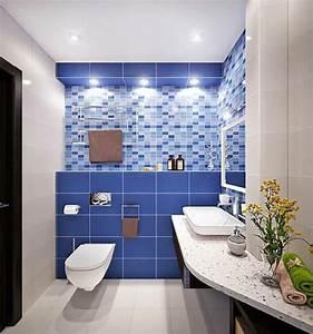 Salle De Bain Moderne Petit Espace : am nagement d une petite salle de bain 3 plans astucieux ~ Dailycaller-alerts.com Idées de Décoration