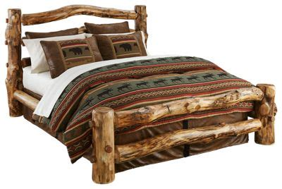 natural wood bedroom furniture collection log bed bass