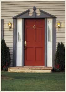 Red Front Door Colors