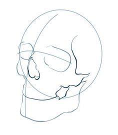 Skull Outline Only Vicious Masks
