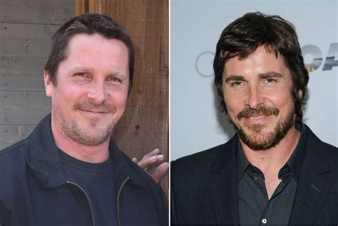 Christian Bale Unrecognizable While Getting Into