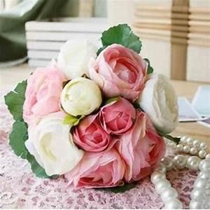Bouquet De Fleurs Pas Cher Livraison Gratuite : pas cher livraison gratuite 4 couleurs de soie simulation fleurs artificielles camellia ~ Teatrodelosmanantiales.com Idées de Décoration