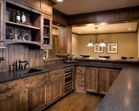 kitchen bar cabinet ideas 15 rustic kitchen designs black granite stains and stain wood