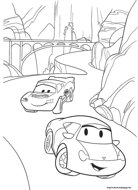 cars 3 disegni da colorare cars disegno da colorare n 2