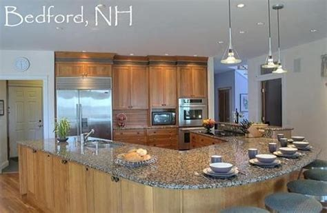 shaped kitchen island modern kitchen pinterest