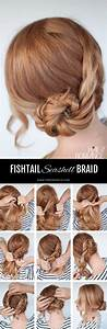 Seashell braid tutorial - Dutch fishtail braid tutorial ...