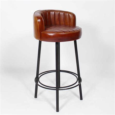 assise de chaise en bois tabouret de bar style vintage américain des ées 50
