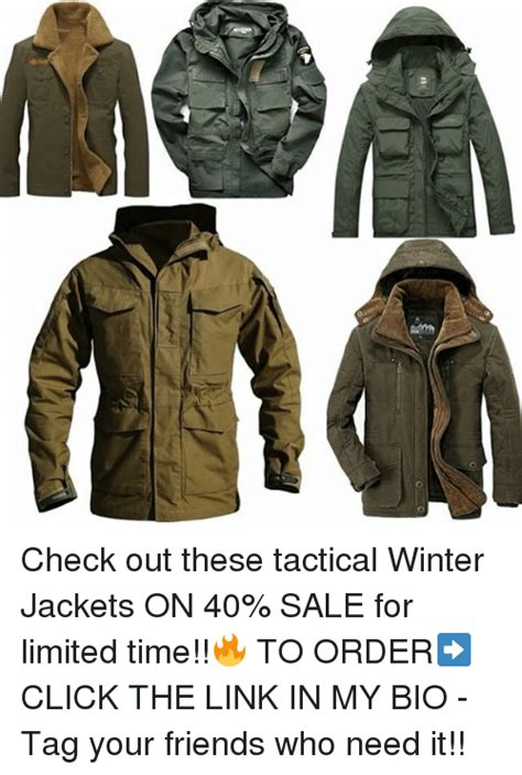 Check Out These Tactical Winter Jackets On 40% Sale For
