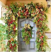 Christmas Front Door Decoration Garden Inspired Home Decor 25 Christmas Wreath Ideas MessageNote Christmas Wreath Holiday Wreath Front Door Wreath Elegant Nature W Damask And Design The Best Christmas Wreaths On Etsy