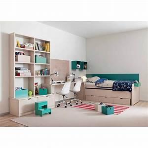 chambre haut de gamme pour 2 enfants signee asoral With chambre enfant avec bureau