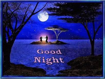Night Dancing Couple Moonlight Bonne Gifs Moon