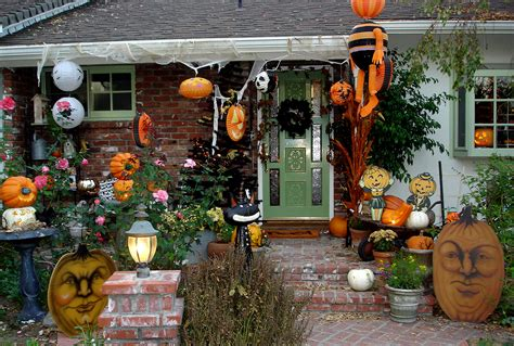 decorations outdoor outdoor decoration ideas spooky front