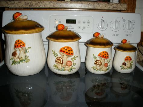 ebay kitchen canisters vintage retro sears roebuck co 1978 merry