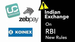 Indian Exchanges Response After RBI Ban On Cryptocurrency ...