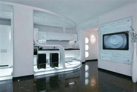 cuisine futuriste une cuisine design futuriste vue par les yeux des
