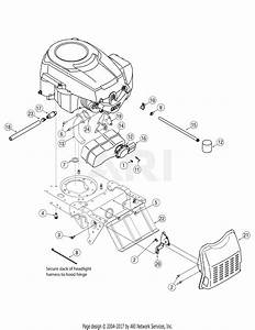 Troy Bilt 13bx60tg711 Super Bronco  2007  Parts Diagram For Engine Accessories Single