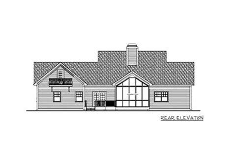 Dramatic Country House Plan  20100ga Architectural