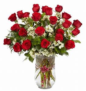 2 Dozen Red Roses Same Day Delivery - Norwood MA Florist