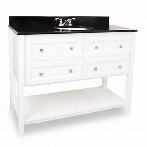 48 adler white bathroom vanity van066 48 bathroom With white vanity cabinets for bathrooms