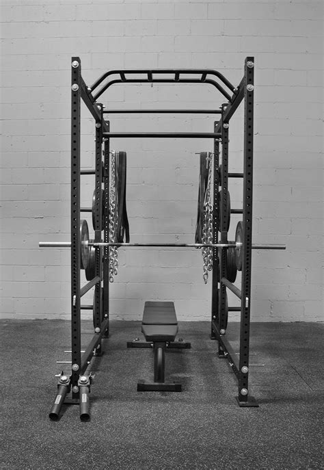 rogue   power rack weight training extra plate storage