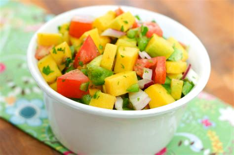 mango salsa mango salsa recipe dishmaps