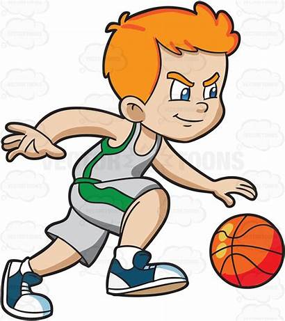 Volleyball Basketball Clipart Cartoon Clip Playing Player
