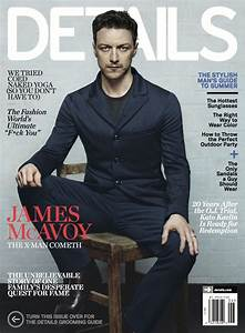 James McAvoy Covers Details Magazines JuneJuly 2014